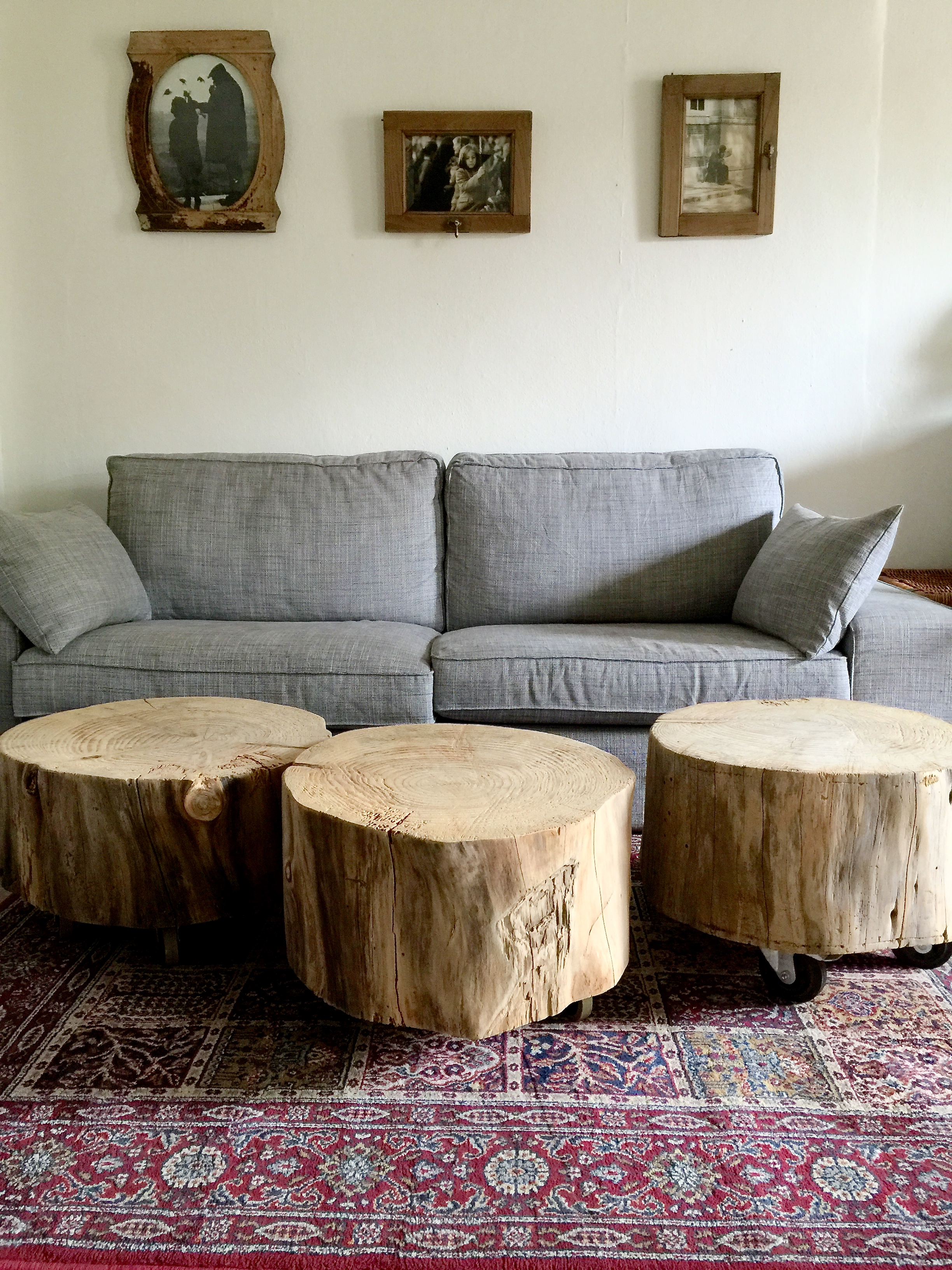 Favori Wonderful Table Basse Tronc D Arbre #10: Table Basse Tronc  LZ16