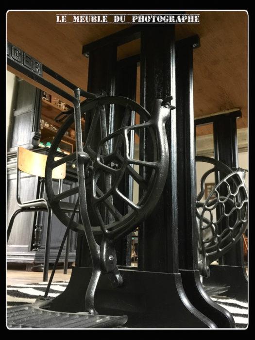 Pieds machine à coudre table